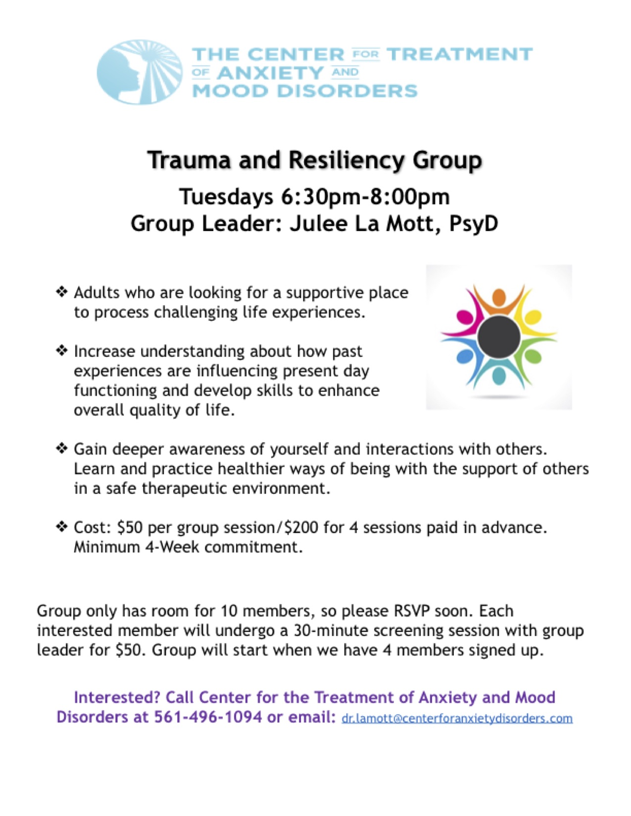 Trauma and Resiliency Group