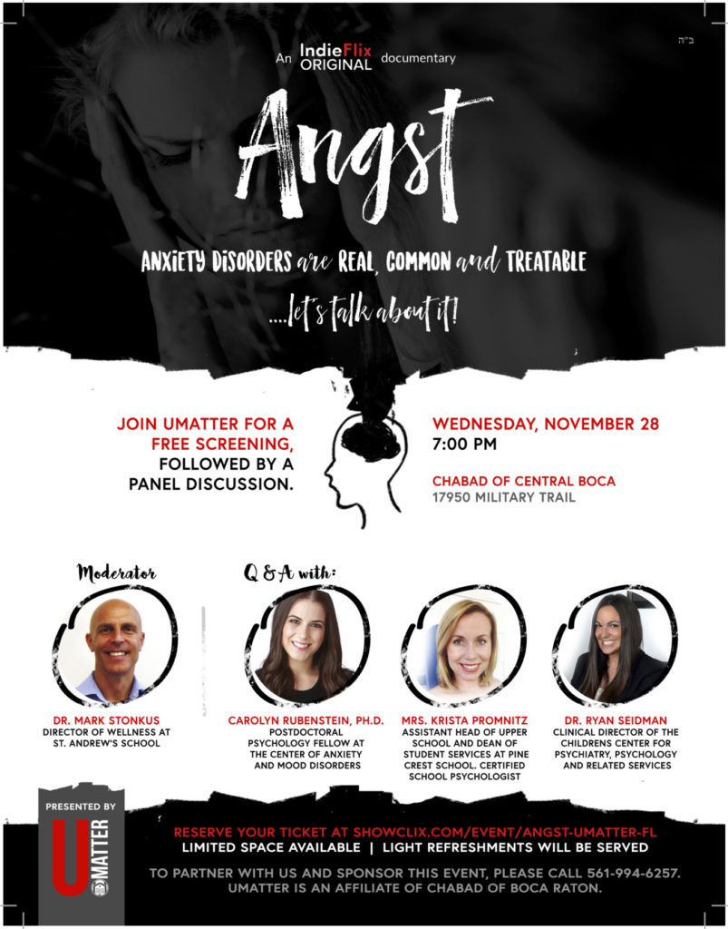 Free Screening of Angst
